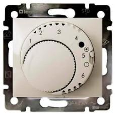 Legrand Valena Термостат с выносным датчиком для электрического подогрева пола 16А/230В, кремовый глянцевый 774191